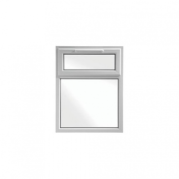Upvc Window 2p Shield6 White 610mm X 1040mm