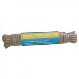 4trade Sash Cord Waxed Cotton No4 10m