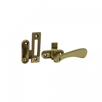 4trade Brass Victorian Sash Fastener