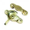 4trade Sash Window Fastener Electro Brass
