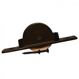 4trade Axle Pulley - Black