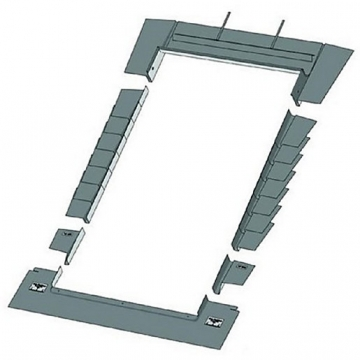 Keylite Plain Tile Roof Flashing 550mm X 780mm Ptrf01
