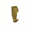 4trade Hooks Single Picture No1 Electro Brass (pack Of 4)