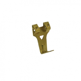 4trade Hooks Double Picture No3 Electro Brass (pack Of 2)