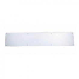 4trade Kicking Plate Satin Anodised Aluminium 750mm X 152mm