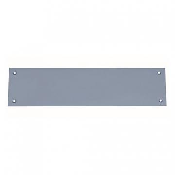4trade Finger Plate Satin Anodised Aluminium 300mm X 75mm