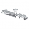 4trade Surface Slide Bolt Satin Nickel 150mm
