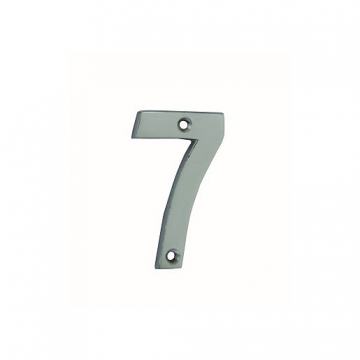 4trade Numeral 7 Face Fix Chrome Plated 75mm