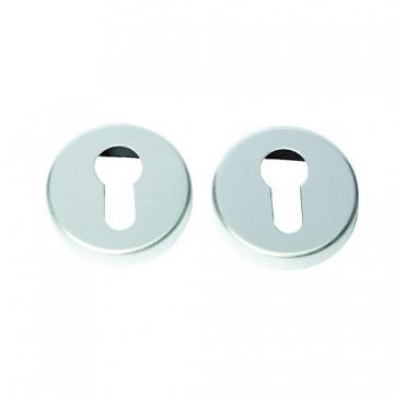 Euro Profile Escutcheon Satin Anodised Aluminium Fd062