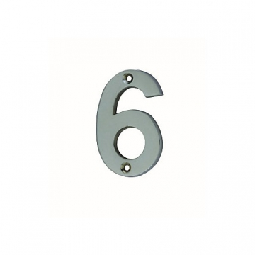4trade Numeral 6/9 Face Fix Chrome Plated 75mm