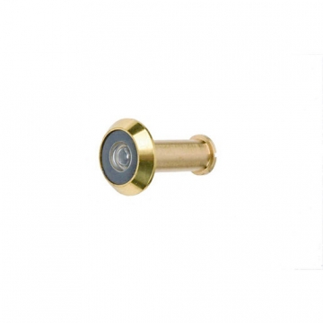 4trade Door Viewer Brass 160 Degrees
