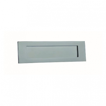 4trade Chrome Letter Plate 250mm X 75mm