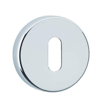 Urfic Standard Round Key Escutcheon Chrome 5125/22