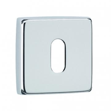 Urfic Standard Square Key Escutcheon Chrome 5245/22