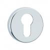 Urfic Euro Round Escutcheon Chrome 5115/22