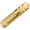 4trade Surface Slide Bolt 150mm X 20mm Brass