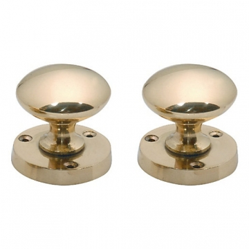 4trade Brass Mortice Knob 57mm