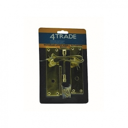 4trade Brass Victorian Scroll Bathroom Lever