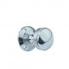 4trade Ringed Chrome Knob Set