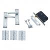 4trade Oxford External Door Pack Satin Anodised Aluminium 3l