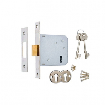 4trade Mortice Sashlock 3 Lever Chrome 64mm