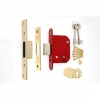 4trade Bs3621 5 Lever Mortice Deadlock Brass Ce Fire Tested 64mm