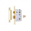 4trade Mortice Bathroom Lock Brass 64mm
