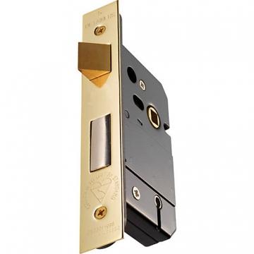 Instock 5 Lever Sashlock Bs3621 Satin Chrome Plated 76mm