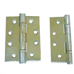 4trade Hinge 2 Ball Bearing Stainless Steel Grade 13 100mm X 75mm X 3mm Pack Of 3
