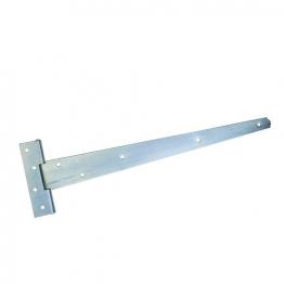 4trade Zinc Plated Medium T Hinge 450mm