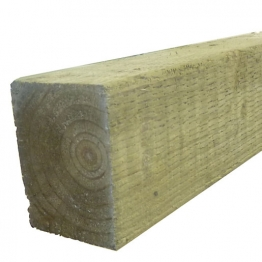Green Treated Incised Uc4 Fence Post 100mm X 100mm