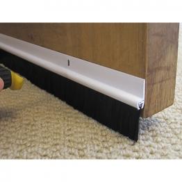 Stormguard Door Strip Bottom Plastic White 838mm