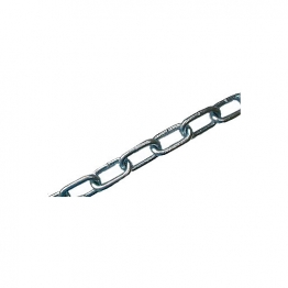 4trade Welded Link Chain Bright Zinc Plated 2m X 6mm X 42mm