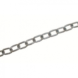 4trade Welded Link Chain 4 X 32mm Bright Zinc Plated 2.0m