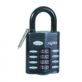 Squire Recodable Combination Padlock Chrome Plated 50mm