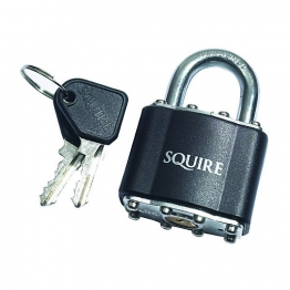Squire 37 Laminted Padlock Open Shackle 45mm