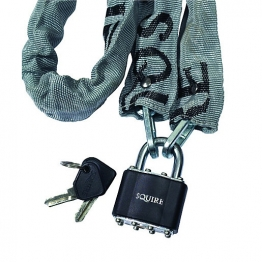 Squire 3536pr Laminated Padlock Cycle & Chain