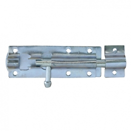 4trade Tower Bolt Straight Galvanised 100mm