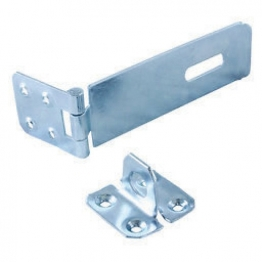 4trade Safety Hasp & Staple Galvanised 112mm