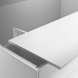 Iflo Solid Surface Worktop 1.5 X 480 White- Aliano