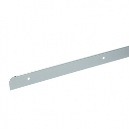 Homelux Kitchen Worktop End Trim Satin Aluminium 30mm X 630mm No13