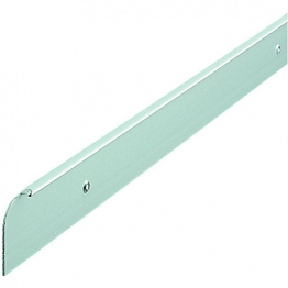 Silver Worktop Aluminium End Trim 630mm E30slp