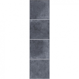 Kronospan Antracite Ant Stone Tile Laminate 1285mm X 327mm X 8mm Clic Lock 2.5m2 Pack