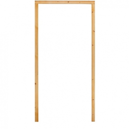 External Softwood Door Frame To Suit 2'6x6'6 Door. No Sill. (f26)