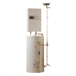 Electric Heating Company Eclipse Cpsdecl9/180 Electric Boiler Complete With Direct Cylinder 9kw 180l