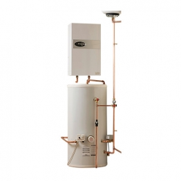 Electric Heating Company Eclipse Cpsiecl12/210 Electric Boiler Complete With Indirect Cylinder 12kw 210l