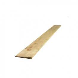 Featheredge Board Treated Green 22mm X 150mm X 2400mm