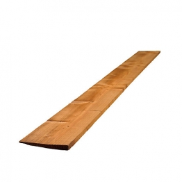 Feather Edged Board Treated Brown 22mm X 100mm X 1800mm