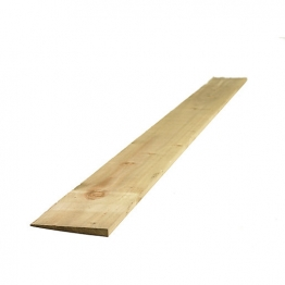 Feather Edged Board Treated Green 22mm X 150mm X 3600mm