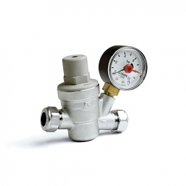 Altecnic 533841h Pressure Reducing Valve Complete With Gauge 15mm